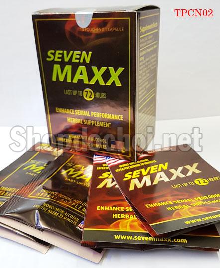 Thuốc SevenMaxx thảo dược dành cho Nam giới