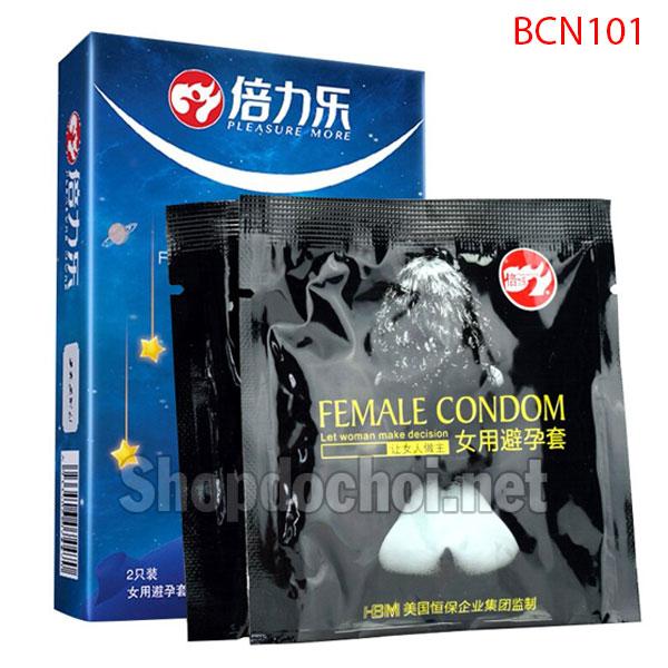 Bao cao su Nữ - Female condom