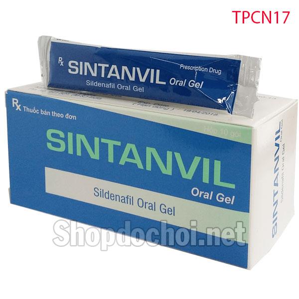 Thuốc cương dương Viagra dạng sirô Sintanvil Oral Gel