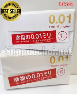 Bao cao su Sagami Original 0,01mm cực siêu siêu mỏng