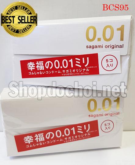 Bao cao su Sagami Original 0,01mm