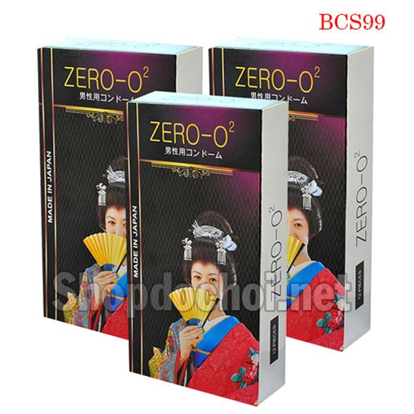 Bao cao su Zero - O2