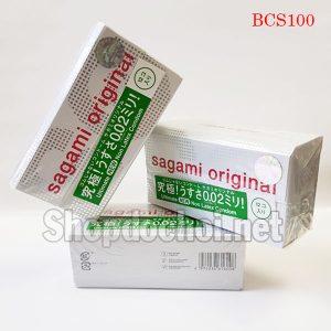 Bao cao su Sagami Original 0.02mm cực siêu mỏng