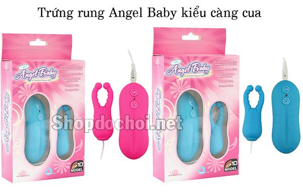 Trung-rung-Angel-baby-cang-cua