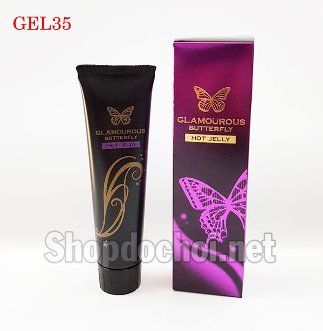 Gel bôi trơn Jex Glamourous Butterfly Hot