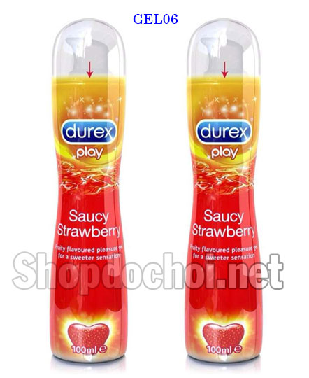 Gel bôi trơn Durex Play Strawberry