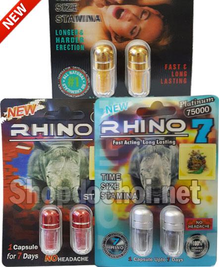 """Thuốc cường dương thảo dược """"Rhino"""" đến từ Mỹ"""