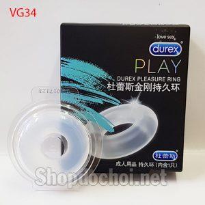 Vòng silicon Durex Pleasure Ring