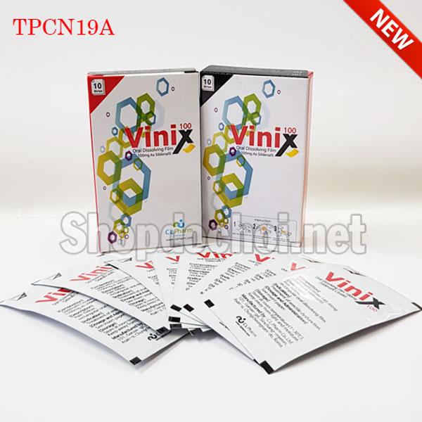 Thuốc cương dương tem ngậm Vinix 100