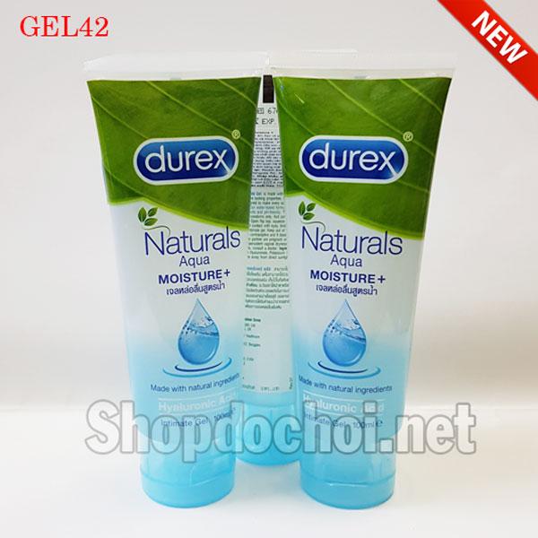 Gel bôi trơn Durex Naturals Aqua cân bằng FH, chống viêm